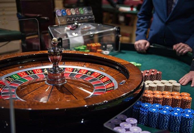Bedrijfsfeestdokter casinotafels