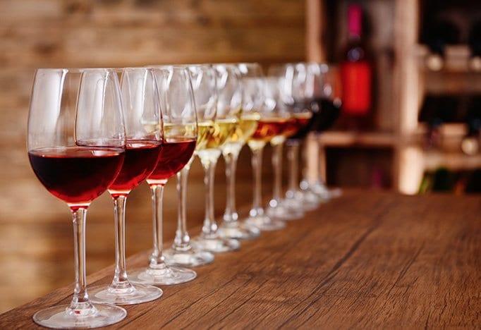 Bedrijfsfeestdokter wijnproeverij